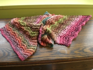 Rose Garden scarf