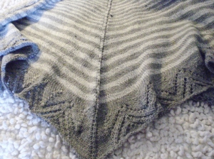 Cécile's shawl